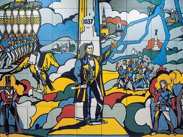 art à montréal, œuvres d'art, art dans le métro de montréal