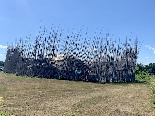 Aperçu du village des Premières Nations Droulers à Saint Anicat LM Le Québec