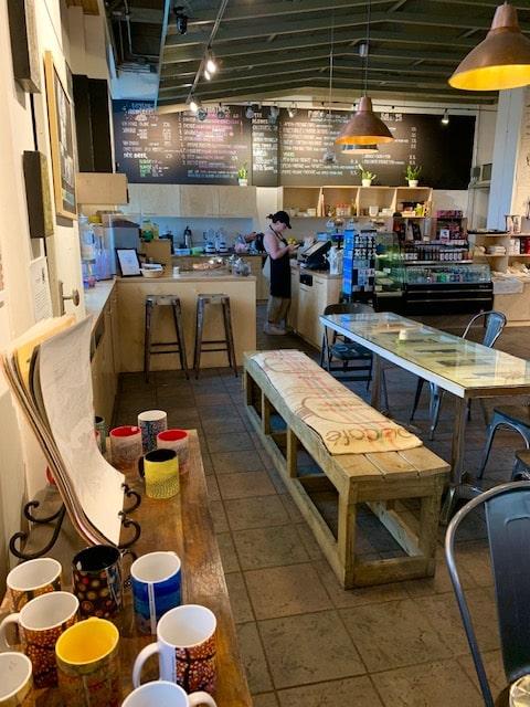 Café des Arts près du Château Ramezay LM Le Québec