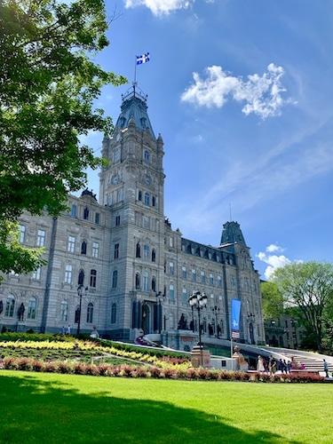 Assemblée nationale en la ville de Québec
