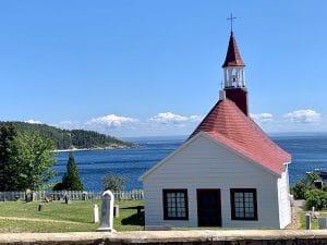 Chapelle de tadoussac vu par LM Le Québec
