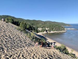 Les Dunes de Tadoussac vu par LM Le Québec