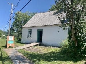 La maison Drouin de l'île d'Orléans au Québec