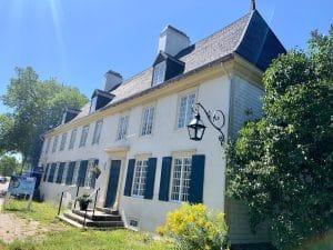 Le manoir Mauvide-Genest de l'île d'Orléans