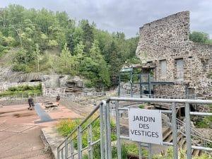 Jardin des Vestiges de La Pulperie de Chicoutimi