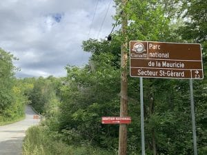 Indications pour le Parc de la Mauricie LM Le Québec