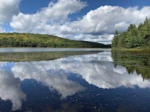 Lac Parker du parc de la Mauricie vu par LM Le Québec