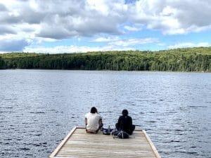 Lac Reid vu par LM Le Quebec LM Le Québec