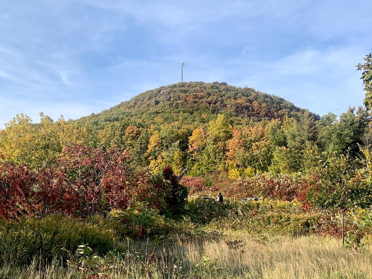 Randonnée sympa sur le Mont-Saint-Grégoire