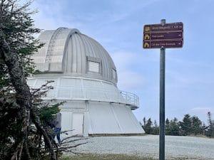 L'observatoire du Mont-Mégantic vu par LM Le Québec