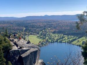 La vue spectaculaire du mont Pinacle !