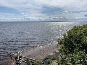 Vue sur le lac Saint Jean LM Le Quebec LM Le Québec