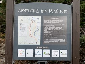 Carte des sentiers LM Le Québec