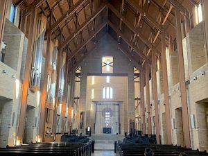 Eglise abbatiale de Saint Benoit du Lac LM Le Québec