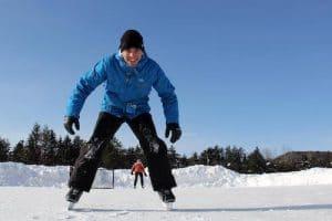 Patins sur glace LM Le Québec