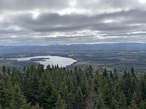 Vue sur les Appalaches des Sentiers du Morne LM Le Quebec LM Le Québec
