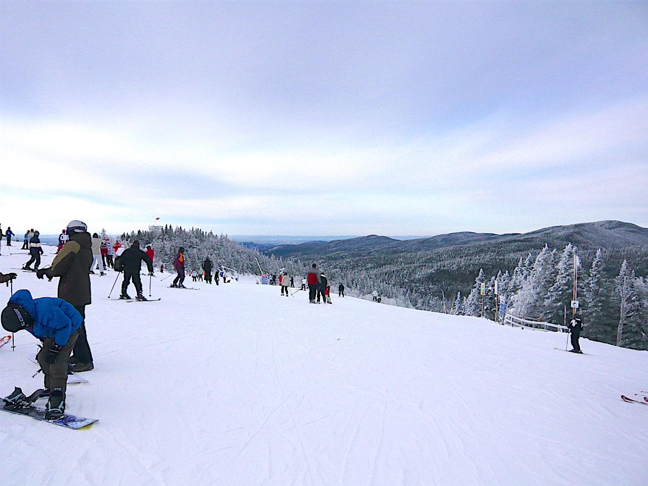 Où faire du ski alpin dans les Cantons de l'Est ?