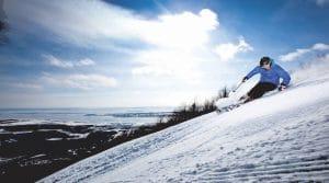 Faire du ski alpin près de Québec