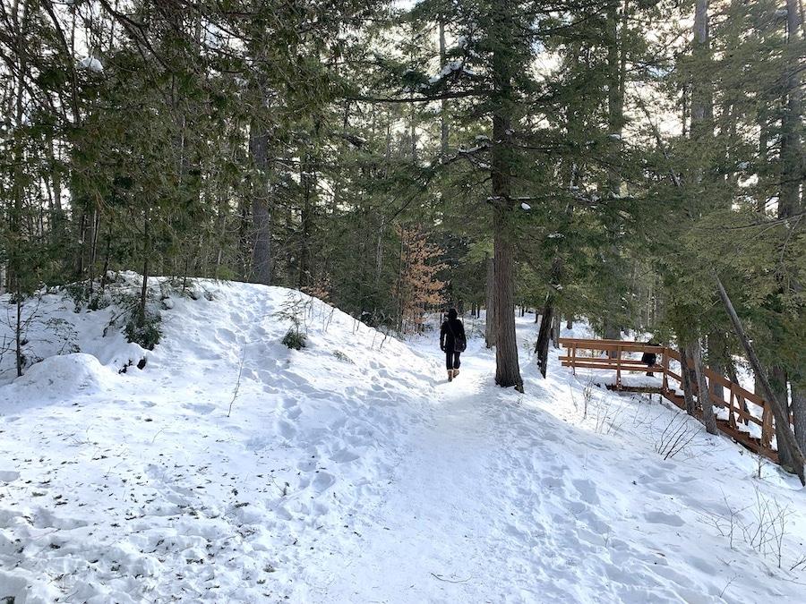 Parc des Chutes Dorwin en hiver 11 LM Le Québec