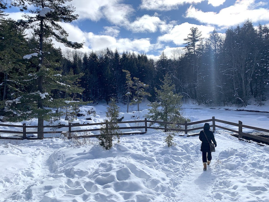 Parc des Chutes Dorwin en hiver 8 LM Le Québec