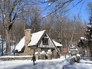 Le parc national du Mont-Saint-Bruno en hiver