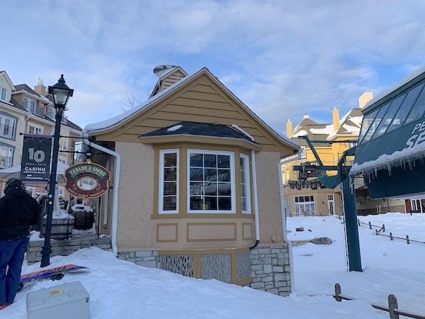 Cabane a sucre a Mont Tremblant LM Le Québec