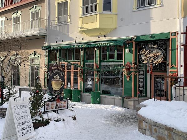 Cafe Au Grain de Cafe a Mont Tremblant LM Le Québec