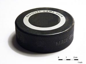 Le palet au hockey LM Le Québec
