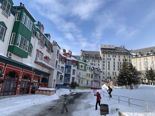 Mont Tremblant Place Saint Bernard LM Le Québec