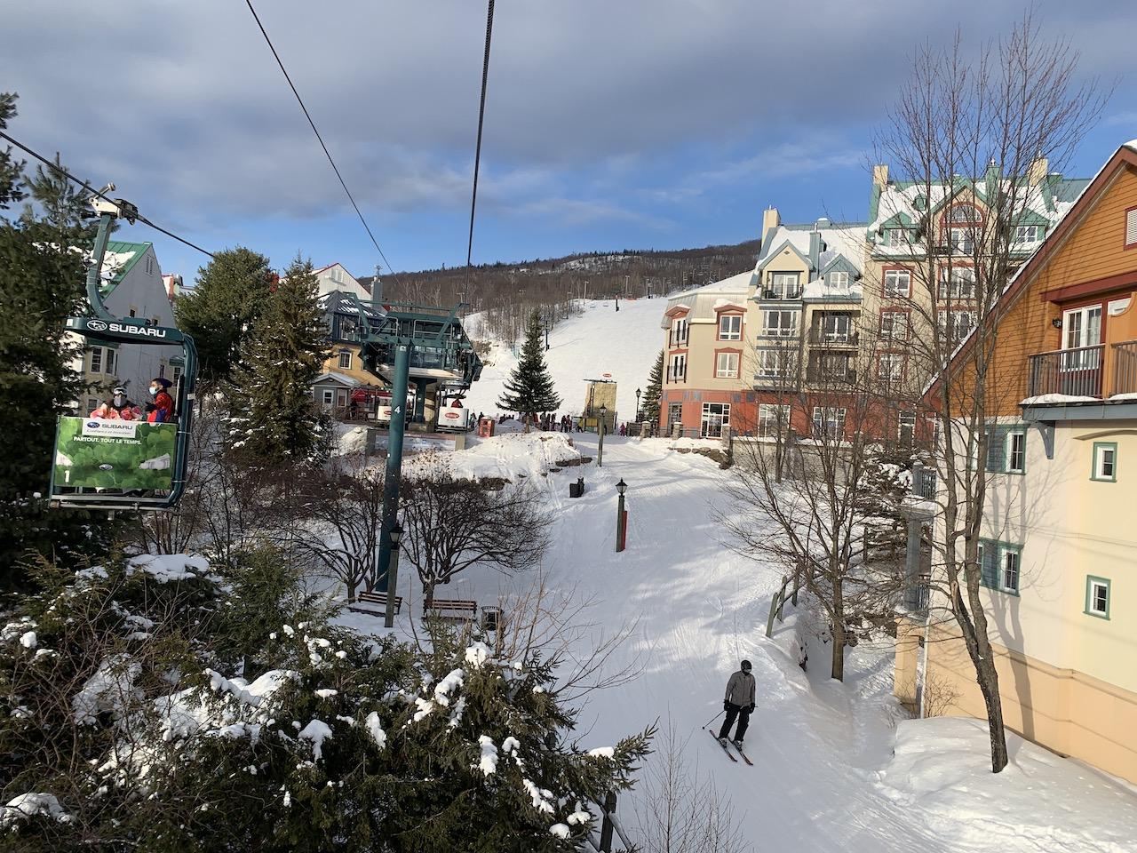 Read more about the article La station de ski Mont-Tremblant en photos