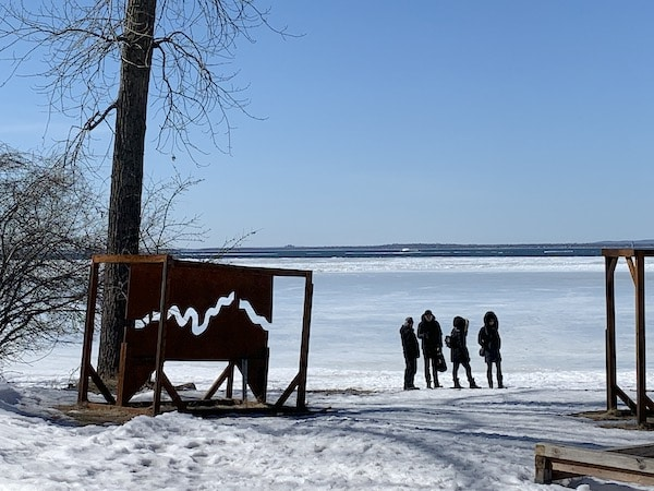 Vue sur le Lac Saint Louis LM Le Québec