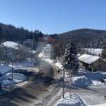 Vieux village de Tremblant en hiver: photos