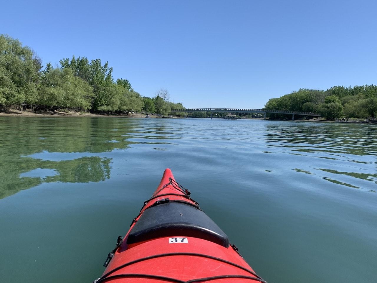Read more about the article Faire du kayak à proximité de Montréal