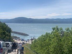 Attente au traversier LM Le Québec