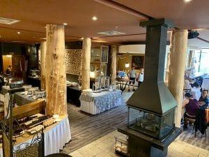 Restaurant de lhotel musee Premieres Nations LM Le Québec
