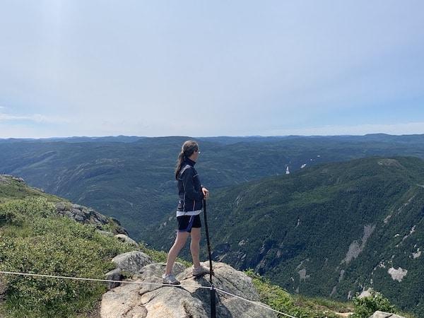 Vue a partir du sommet LM Le Québec