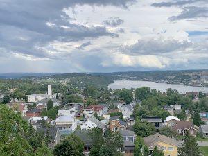 Vue de la Croix de Sainte Anne LM Le Québec