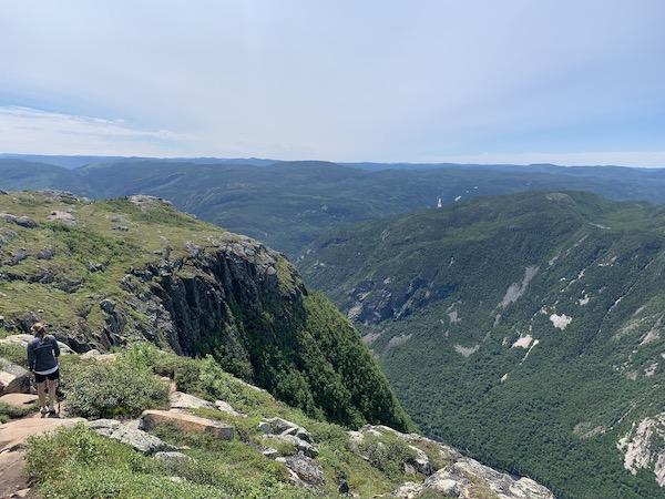 Vue du sommet LM Le Québec