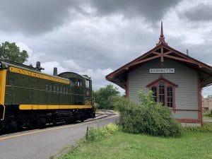 Gare a Exporail LM Le Québec