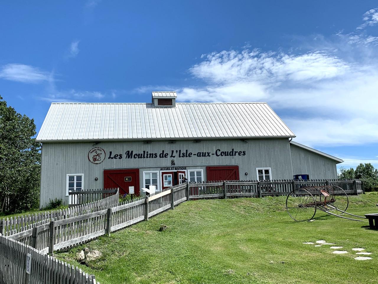 Read more about the article Les Moulins de l'Isle-aux-Coudres: un must !