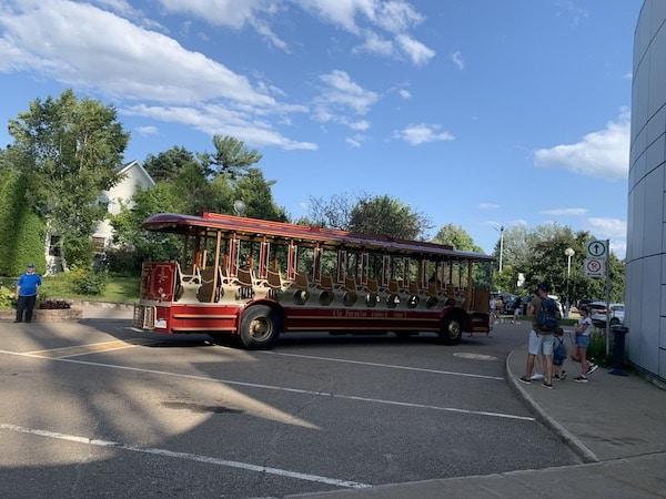 Trolleybus LM Le Québec