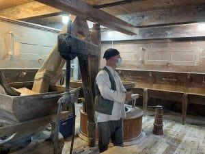Visite guidee du moulin LM Le Québec